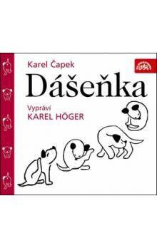 Karel Čapek: Dášenka - CD cena od 49 Kč