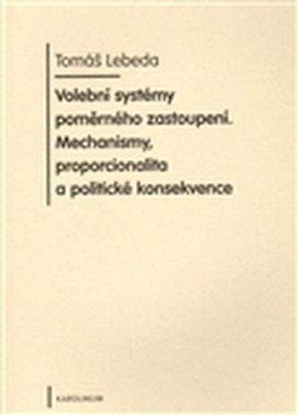 Karolinum Volební systémy poměrného zastoupení cena od 129 Kč