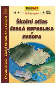SHOCART Školní atlas Česká republika a Evropa cena od 135 Kč