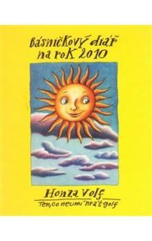 Honza Volf: Básničkový diář na rok 2010 cena od 152 Kč