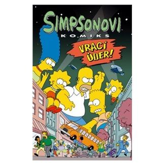Matt Groening: Simpsonovi vrací úder cena od 192 Kč