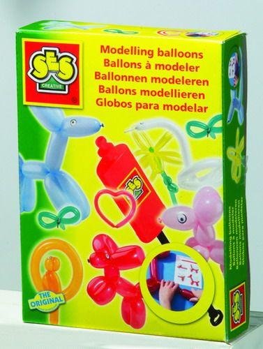 SES Tvarovací balónky s hustilkou cena od 229 Kč