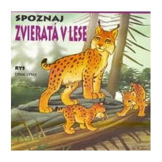 TIMY partners Leporelo - Spoznaj Zvieratá v lese cena od 44 Kč