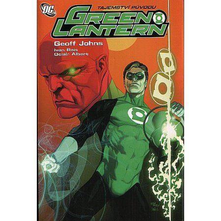 Ivan Reis, Geoff Johns: Green Lantern - Tajemství původu cena od 262 Kč