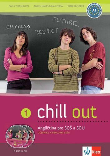 Chill out 1 - Angličtina pro SOŠ a SOU - učebnice+PS+2CD cena od 379 Kč