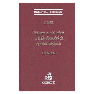 Jakub Kříž: Zákon o církvích a náboženských společnostech cena od 619 Kč