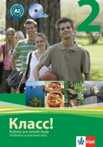 Orlova a N.: Klacc! 2 - Ruština pro SŠ - Učebnice + PS + 2CD cena od 345 Kč