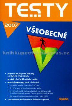 didaktis Testy všeobecné 2007 cena od 107 Kč