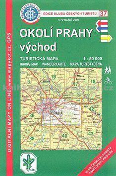 KČT 37 Okolí Prahy, východ cena od 61 Kč