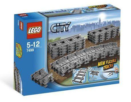 Lego City Ohebné koleje 7499