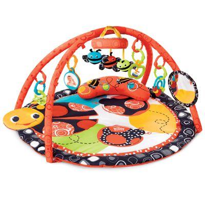 Bright Starts deka podporující vývoj s hrazdou a hračkami