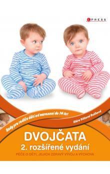Klára Rulíková: Dvojčata - Péče o děti, jejich zdravý vývoj a výchova cena od 158 Kč