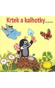 Zdeněk Miler: Krtek a kalhotky - omalovánky čtverec se samolepkami cena od 0 Kč