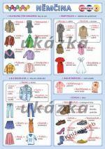 Kupka Obrázková nemčina 4 - oblečenie cena od 22 Kč