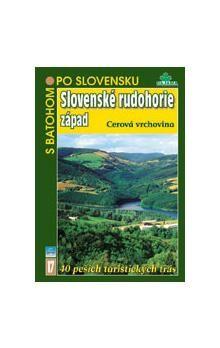 Slovenské rudohorie západ - Cerová vrchovina (17) cena od 128 Kč