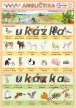 Kupka Obrázková angličtina 1 - zvieratá cena od 0 Kč