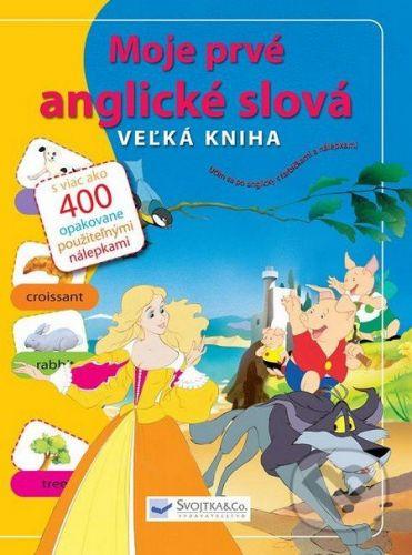 Svojtka SK Moje prvé anglické slová - Veľká kniha cena od 156 Kč