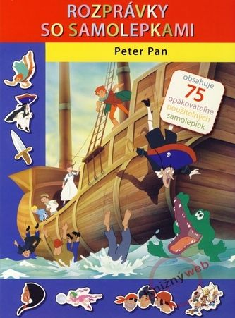 Svojtka SK Peter Pan - Rozprávky so samolepkami cena od 49 Kč
