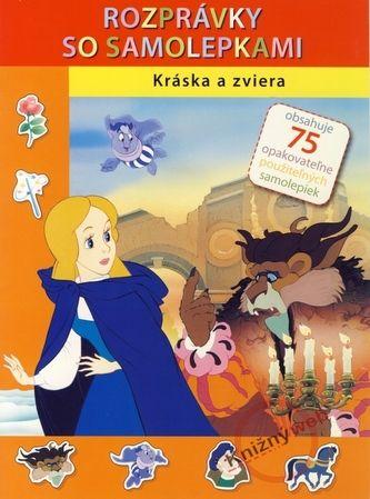 Svojtka SK Kráska a zviera - Rozprávky so samolepkami cena od 49 Kč
