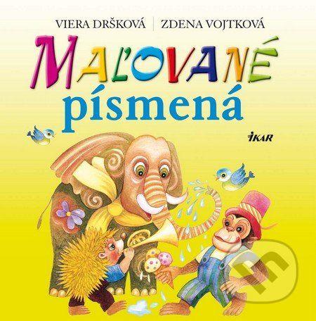 Viera Dršková, Zdena Vojtková: Maľované písmená cena od 133 Kč