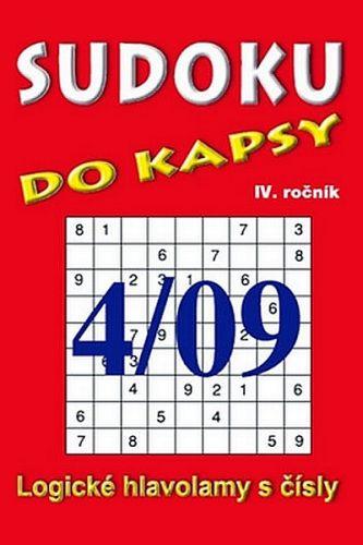 TELPRES Sudoku do kapsy 4/09 cena od 41 Kč