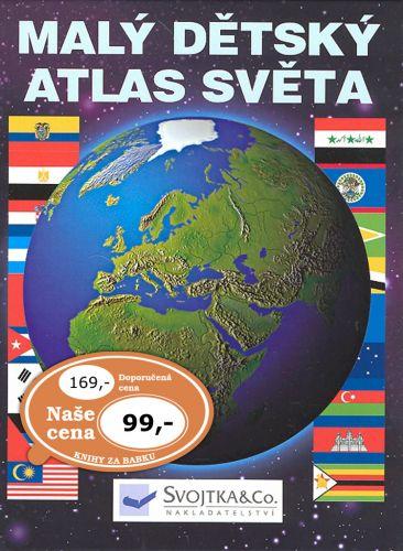 Svojtka Malý dětský atlas světa cena od 99 Kč