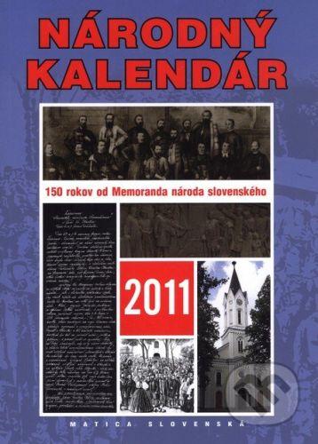 Matica slovenská Národný kalendár 2011 cena od 92 Kč