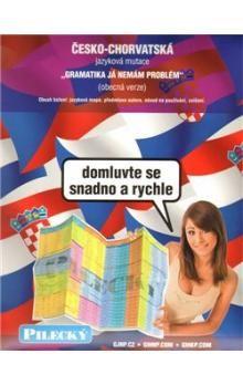 Jazyková mapa: česko-chorvatská - obecná cena od 100 Kč