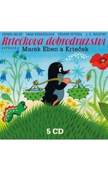 Zdeněk Miler, Hana Doskočilová: Krtečkova dobrodružství 5CD cena od 369 Kč