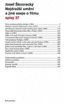Josef Škvorecký: Nejdražší umění a jiné eseje o filmu cena od 122 Kč