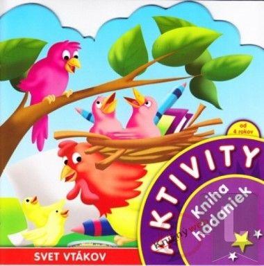 Aktivity-Svet vtákov-kniha hádaniek cena od 37 Kč