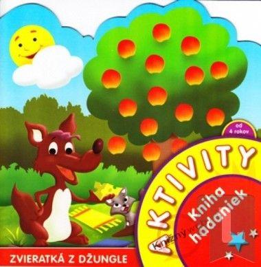 Aktivity-Zvieratká z džungle-kniha hádaniek cena od 51 Kč