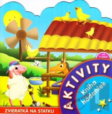 Aktivity - Zvieratká na statku - Kniha hádaniek cena od 37 Kč
