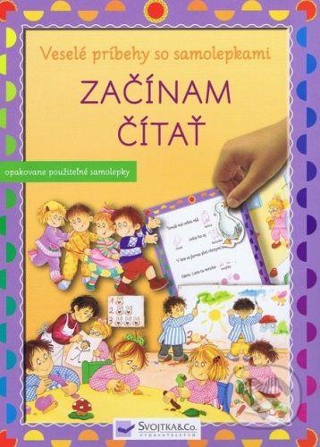 Svojtka SK Začínam čítať - Veselé príbehy so samolepkami cena od 130 Kč