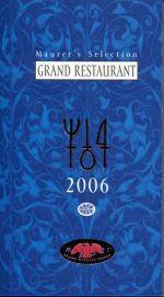 Pavel Maurer: Maurerův výběr - Grand Restaurant 2006 - anglicky cena od 173 Kč