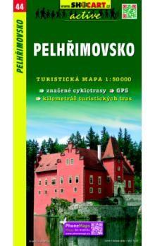 Pelhřimovsko - 1:50000 tur. mapa cena od 67 Kč