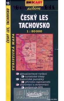 Český les, Tachovsko 1:50T - turist .mapa cena od 76 Kč