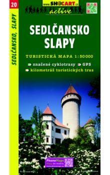 Sedlčansko,Slapy 1:50T - turist .mapa cena od 69 Kč