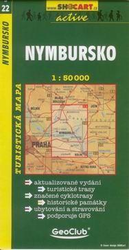 GeoClub Nymbursko 1:50T - turist .mapa cena od 69 Kč