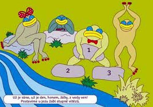 Žáby, žabky, žabulky cena od 65 Kč