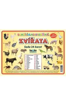 Petr a  Kupka: Sada 24 karet Zvířata domácí a hospodářská cena od 44 Kč