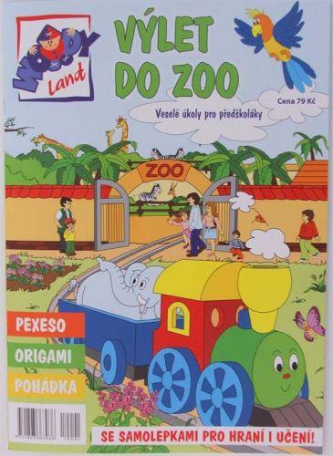 Woodyland Výlet do ZOO - Veselé úkoly pro předškoláky cena od 89 Kč