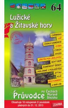 Lužické a Žitavské hory 64. - Průvodce po Č,M,S + volné vstupenky a poukázky cena od 56 Kč