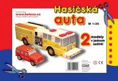 Hasičská auta cena od 40 Kč