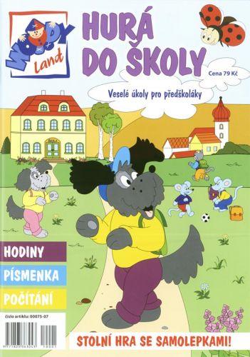 Woodyland Hurá do školy - Veselé úkoly pro předškoláky cena od 119 Kč
