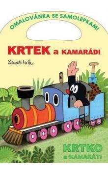 Zdeněk Miler: Krtek a kamarádi - Omalovánka se samolepkami cena od 31 Kč