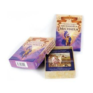 Doreen Virtue: Vykládací karty archanděla Michaela cena od 235 Kč