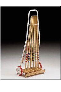 Londero Kroket kovový vozík 6 hráčů
