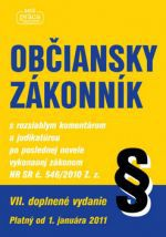 Nová práca Občiansky zákonník s rozsiahlym komentárom a judikatúrou cena od 466 Kč