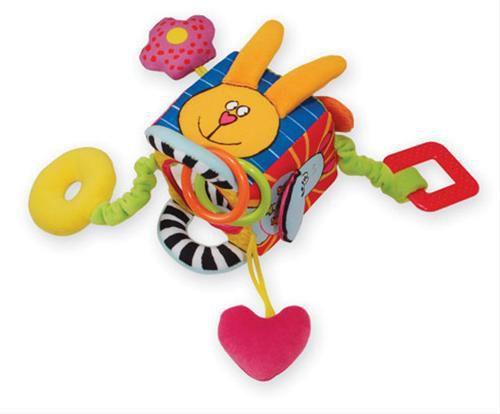 Taf Toys Zvědavá kostka Zajíc cena od 419 Kč